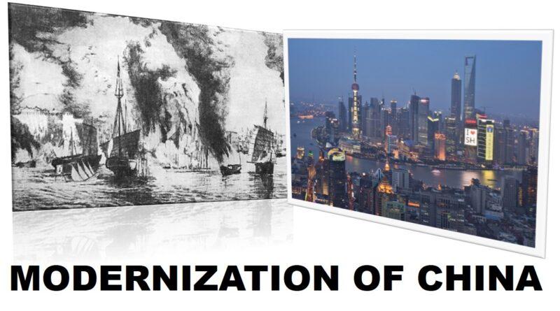 MODERNIZATION OF CHINA
