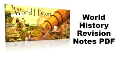 World History Short Revision Notes PDF